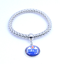 Sport Bracelet NHL Edmonton Oilers Charms Bracelet&Bangle for Women Men Ice Hockey Jewelry Accessories Fashion 2017