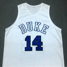BRANDON INGRAM DUKE Blue Devils White College Basketball Jersey Embroidery Stitched Customize any size and name