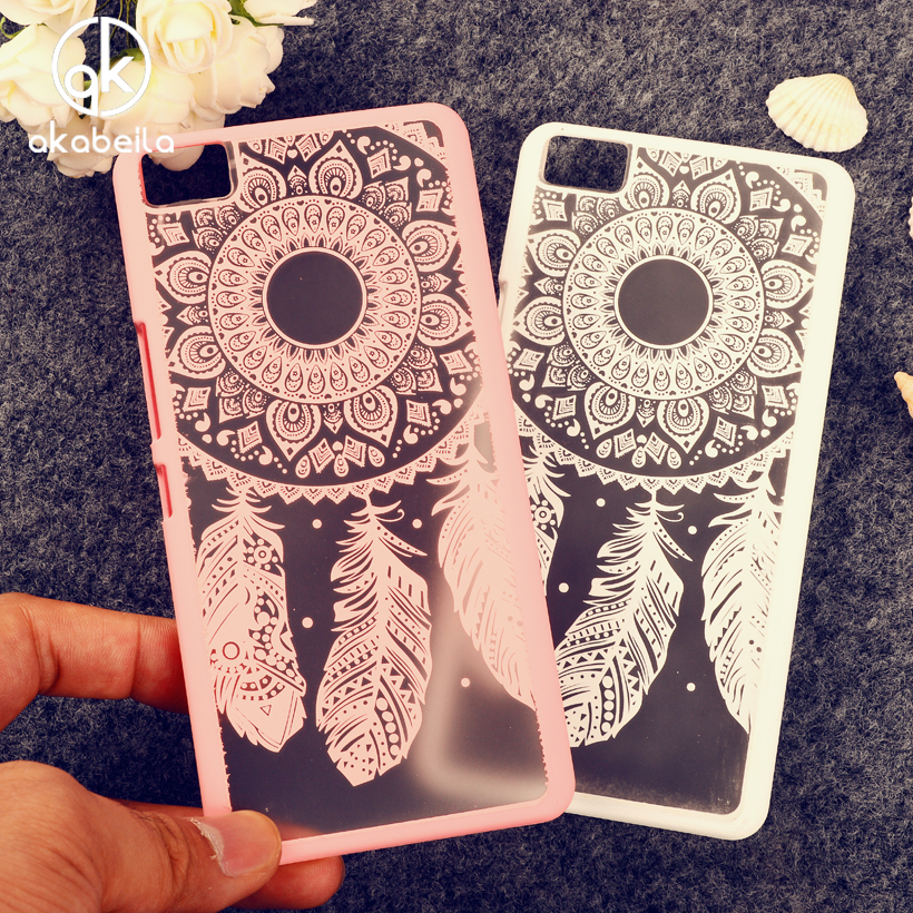 Cell Phone Bags Cases For BQ Aquaris M5 Housing Covers Hollow Dream Catcher Plastic Bags For BQ M5 Hood Shell Case Cover(China (Mainland))