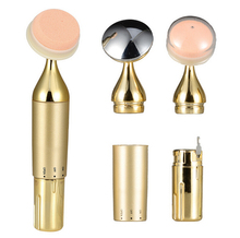Electric powders multi-function vibrating powders anionic ultrasonic makeup brush BB cream foundation tool Free Shipping
