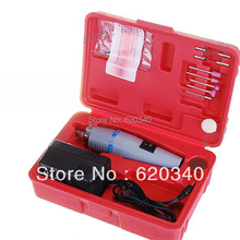 Free shipping hot sale Mini drill set Drill Grinder Kit micro-drill Toolbox Drilling, grinding powerful tool(China)