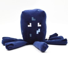 1pcs 16cm Minecraft Plush Toys Minecraft Squid Stuffed Plush Toys Doll Game Cartoon Toys Soft Toy brinquedos Kids Christmas Gift