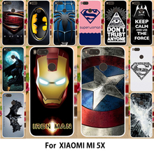 Buy AKABEILA Superman Printed Cases Xiaomi Mi A1 Case Silicon MiA1 Mi 5X Cover TPU Mi5X Cute Soft Covers Bags Shell Skin Hood for $1.98 in AliExpress store