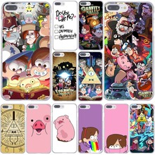 Design Cartoon Anime Gravity Falls Family Art  Phone Case Hard Transparent for iPhone 7 7 Plus 6 6S Plus 5 5S SE 5C 4 4S Cover
