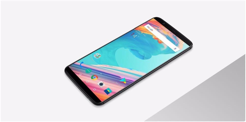 NEW Original Oneplus 5T Mobile Phone Snapdragon 835 Octa Core 6.01″ Full Screen 6GB 64GB Dual Camera 20.0MP 16.0MP Fingerprint