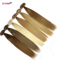 "ZZHAIR 20"" 50cm 100% Human Hair Clips In Human Extensions 7pcs/set 120g Full Head Set Straight hair 14 Colors Non-remy"