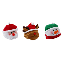 Funny Cute Santa Claus Hat Christmas Oldman Snowman Deer Hats Sets Christmas Party New Year Decoration Party Cospaly Xmas Gifts