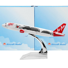 Asian Dragon Airbus 320 16cm model airplane kits child Birthday gift plane models toys Christmas gift(China)