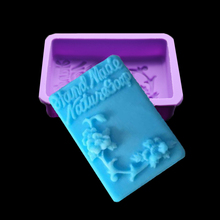 Silicone Mold 3d Flower Handmade Soap And Natural Processes Shaping Chocolate Cake Confectioner Pastry Kitchen Tools