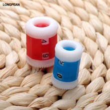 2PCS/lot RED Convenient Plastic Crochet Knitting Row Counter Round Stitch Tally Knitter Needle Free Shipping #181(China)