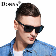 Donna Polarized Men Sunglasses Sports Oversized Square Driver Fishing Sun Glasses HD Lens Womens Designer Mens Plastic D57(China)