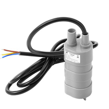 Free Salable 12V DC 1.2A 5M 14L/Min 600L/H 6-15V For solar Aquarium three Core Micro Submersible Motor Water Pump sensor