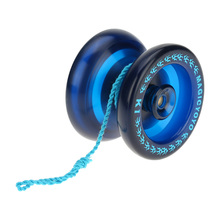 Hot Sale Yoyo Classic Kids Toys Professional Magic Yoyo K1 Spin Aluminum Alloy Metal Yoyo 8 Ball KK Bearing with Spinning String(China)