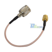 High Quality15cm RP TNC male to sma male plug RF Antenna jumper pigtail Cable RG316