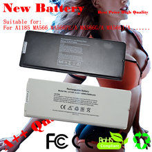 "JIGU Laptop Battery For Apple MacBook 13"" A1181 MA566FE/A MA566G/A MA566J/A MA472 MA701 A1185 MA566  Black"