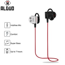 ALANGDUO ALD-EP01 Wireless Bluetooth Earphone Sports Running In Ear EarHooks Headset Earbud Handfree Music Earphones With Mic(China)