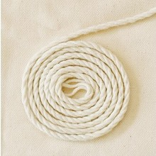 3mm 6mm Braided Woven Twisted Cotton Cord DIY Beading String Packing Rope Decorative Craft Thread Jewelry Bags Accessories CD-09(China)