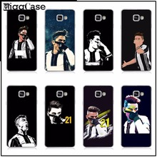 case Juventus Football Soccer Star Paulo Dybala Cover For samsung Galaxy A3 A5 A7 2017 J1 J5 J7 2016 TPU Soft Phone case Cover(China)