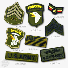 AIRFORCE ARMY AIRBORNE Patch Badges Patches Badge Embroidered Applique Sewing Iron On Patch Clothes Garment Apparel Accessories