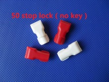 50pcs/lot EAS locklifting stop lock for stem&peg security display hook(no magnetic key!!!)