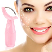 Pretty Stainless Steel Facial Care Hair Skin Rolling Trimmer Remover Roller Hot Selling(China)