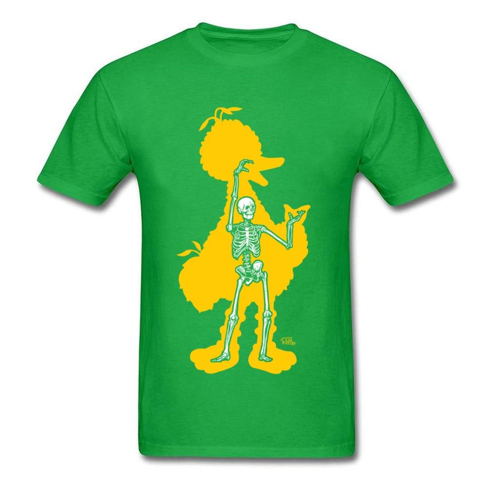 bird x ray 11689 Men Funky Tops & Tees Round Neck Summer Fall 100% Cotton Fabric T-Shirt Normal Short Sleeve Tee Shirts bird x ray 11689 green