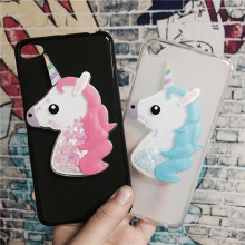 Buy 3D Unicorn Quicksand Liquid Soft Silicone Case Lenovo S60 S60a S60-a S60-t S60w Phone Cover Cartoon Diamond Funda Coque for $3.46 in AliExpress store