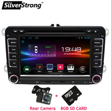 SilverStrong 2Din Android Car DVD Player for Volkswagen PassatB6 B7 Jetta MK5 MK6 Car Android Golf DVD GPS VW Radio 65DS(Hong Kong,China)