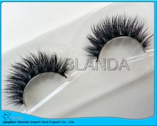 UPS Free Shipping 2017 celebrate 200pair/lot 100% real mink eyelash private label services siberian mink fur eyelash(China)
