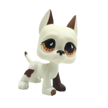 Cute LPS figure kids Collection toy dog GREAT DANE #750 Children's gifts