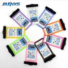 High Quality Waterproof Clear Sensitive PVC Touch Screen For iPhone 7 6 6s plus 5 5c 5s 4s for Samsung galaxy S7 S6 S5 S4 edge