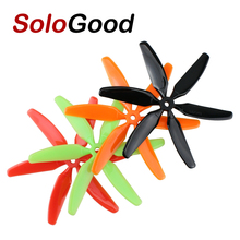 5 pairs 5040 6 Leaf Blade Propeller CW/CCW For 250 FPV Racing Quadcopter ZMR250(China)