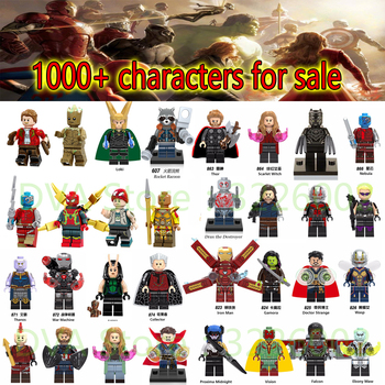 HSANHE For legoing Marvel Avengers Infinity Wars Ant