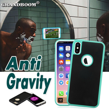 Anti Gravity Case Hybrid Magical Nano Suction Adsorbed Cover For iPhone X 8 7 6S Plus SE 5S Samsung Note 8 S8 S7 S6 Edge Cases(China)