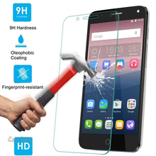 9H Tempered Glass Screen Protector For Alcatel pop UP Verre Protective Toughened Film For pop UP Temper Protection Trempe
