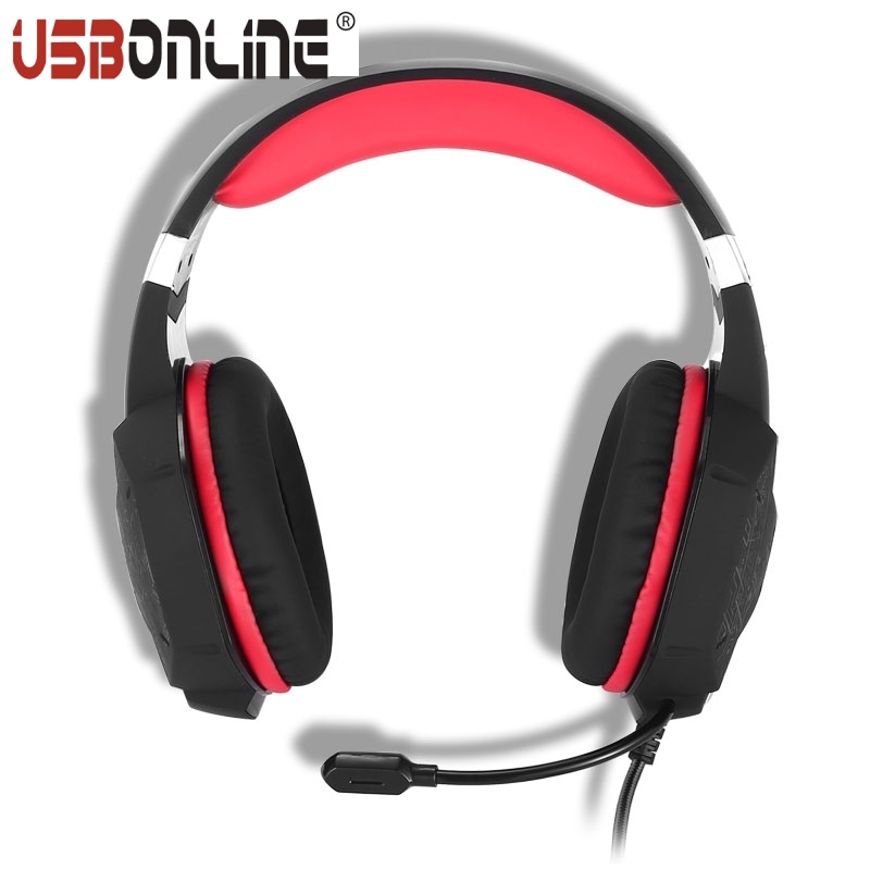 3pcs Hight Quality Bass Stereo Game Headphones for PC KOTION EACH G1000 Professional 3.5mm Headband Headset for Laptop Computer<br><br>Aliexpress