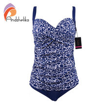Andzhelika One Piece Swimsuit 2017 New Women Plus Size Bodysuit Sexy Hollow Out Swimwear Large Cup Bathing Suit Monokini DY81609