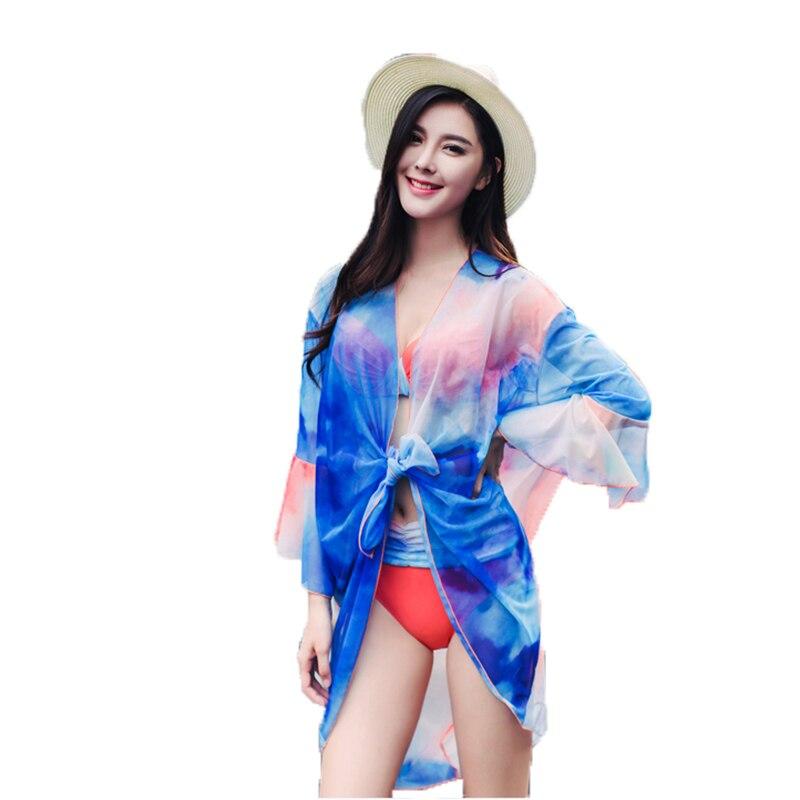 High quality Beach Sexy Girl 3 in 1 set Bikini Swimwear Mid Waist Swimsuit Seaside Women wrap beach Cover-ups bathing suit<br>