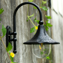 Outdoor wall lamp IP55 waterproof lighting fitting fashion brief modern All-aluminum balcony aisle creative wall lamp