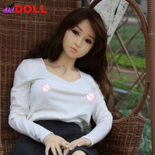 Japanese 148cm Beauty Real Silicone Sex Dolls Big Boobs Real Doll Sex Toys Rubber Woman Metal Skeleton Sex Doll Oral Anal Vagina