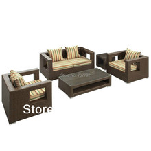 2013 New Style outdoor wicker bench seat