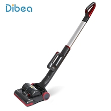 Dibea Cordless Upright Vacuum Cleaner Recharging 2-in-1 Stick & Handheld Vacuum Cleaning Machine for Carpet Hair with LED Light