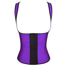 Firm Reduce Belt Slimming Corset Latex Rubber Waist Trainer Corset Women Sashes Shapewear Fajas Hot Tummy Trimmer Waist Cincher