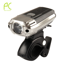 PCycling 300LM USB Rechargeable Bike LED Front Light Aluminum Alloy Power Head Flashing Cycling Bicycle Safety Waterproof Lamp