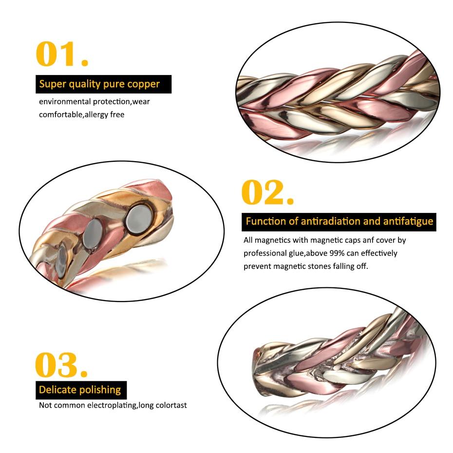 Health Energy Magnetic Bracelet  (4)
