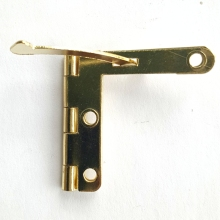 50pcs 30*33mm Brass Color Hinge Box Quadrant Hinge Small Box Hardware Accessories Wholesale Buckle