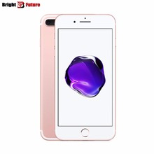 11.11 sale price Glass A sim free Unlocked Genuine original Apple iPhone 7 plus 32GB 128GB 256GB cellphone IOS waterproof IP68(China)