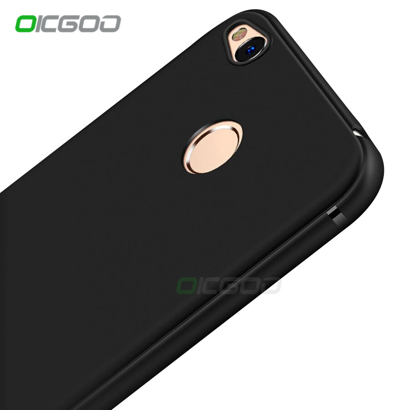 OICGOO Ultra Thin Silicone Soft TPU Full Cover Case Xiaomi Redmi Note 5A 4X 4 Back Cases Redmi 5A 5 Plus 4 Note 4x Case