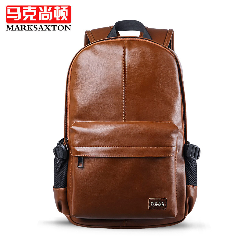 2017 New mens travel bags backpack school bags for men Luxury PU leather fashion travel bag Laptop bags<br>