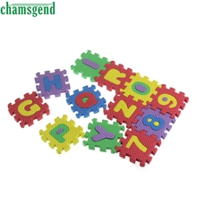 CHAMSGEND Modern 36Pcs Baby Child Number Alphabet EVA Puzzle Foam Maths Educational Toy Gift Mar29